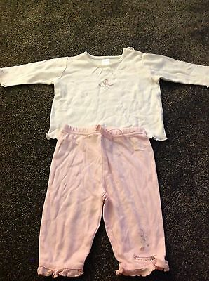 Next Baby Girl Outfit - Age 3-6 Months