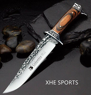 JL 042 Survival Military Bowie Camping Hunting Tactical Pig Sticker knife Au