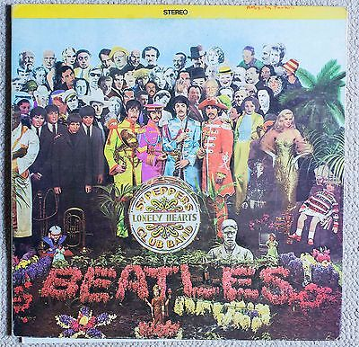 Original Beatles SGT Peppers Lonely Hearts Club Band LP
