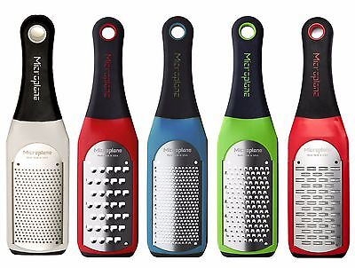 Microplane Fine, Coarse, Extra-Coarse & Medium Ribbon Grater - Artisan Series