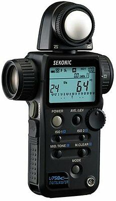 Sekonic L-758 Cine DIGITALMASTER - Flash Light meter