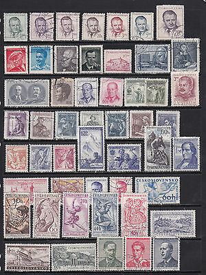 Classic Czechoslovakia Slection with Good Pictoirals - 2 SCANS (Cz2111 2)
