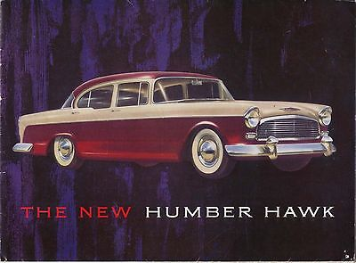 Humber Hawk Series I Original UK Sales Brochure Pub. No. 508/H n/d circa 1957