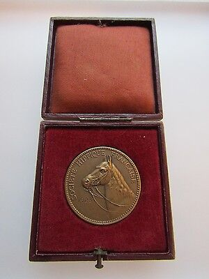 French Horse Society Bronze Medal Boxed Riding Exams in Paris 1923