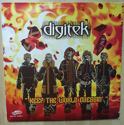 "DIGITEK - Keep The World Guessin' 2004  2 x 12"" Vinyl Lp"