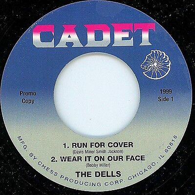 Northern Soul - Dells - Run For Cover + 3 Other Tracks Ep - Cadet Label Demo