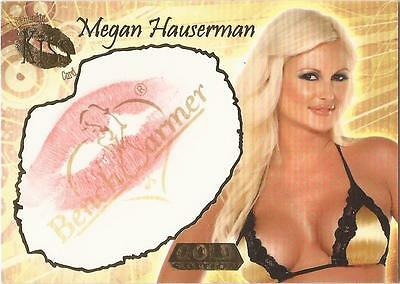 "Benchwarmer 2007 Gold Edition - 21 of 24 ""Megan Hauserman"" Kiss Card"