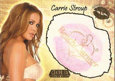 "Benchwarmer 2007 Gold Edition - 12 of 24 ""Carrie Stroup"" Kiss Card"