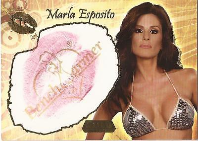 "Benchwarmer 2007 Gold Edition - 17 of 24 ""Marla Esposito"" Kiss Card"