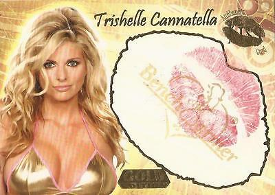 "Benchwarmer 2007 Gold Edition - 13 of 24 ""Trishelle Cannatella"" Kiss Card"