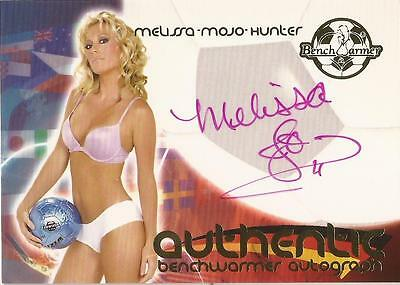 "Benchwarmer 2006 World Cup -  #28 of 30 ""Melissa 'MOJO' Hunter"" Autograph Card"