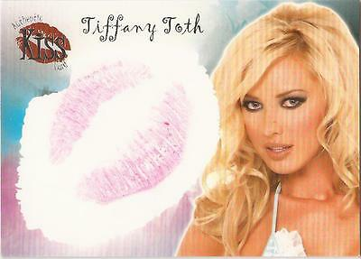 "Benchwarmer 2007 Series 1 - 15 of 16 ""Tiffany Toth"" Kiss Card"