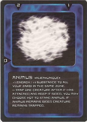 """Doctor Who MMG CCG - Character """"Animus"""" Card"""