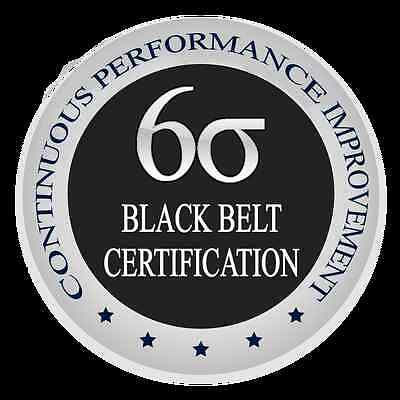 Learn Lean Six Sigma Black Belt The Easy Way, Certification & Training Course