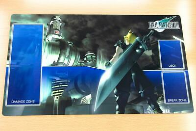 F1083 Free Mat Bag FF7 Cloud Final Fantasy Trading Card Game Custom Playmat TCG