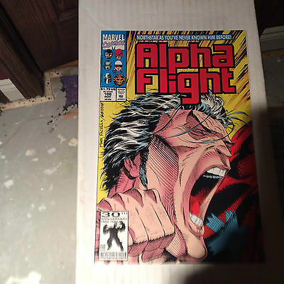 Alpha Flight #106--Northstar Comes Out As Gay..first Print.near Mint