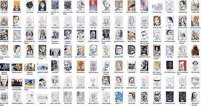 2015 Journey To Star Wars The Force Awakens Sketch Card: YOU CHOOSE 1/1