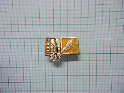 Moscow 1980 Summer Olympics Olympic Basketball pin badge