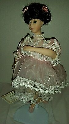 Soft Expressions Doll Collection Precious Porcelain Ballerina