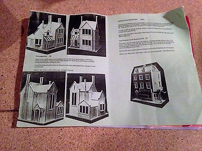 'THE RECTORY' VINTAGE DOLLS HOUSE (hand made for original owner)