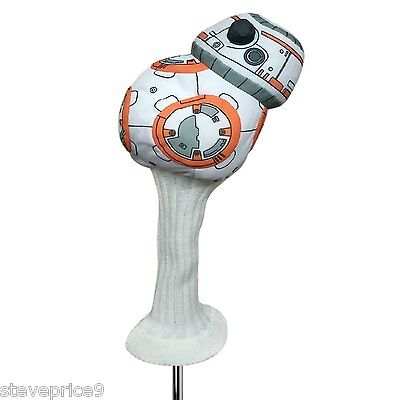 New Official Star Wars Bb8 Golf Driver Headcover.