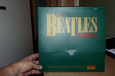 THE BEATLES MEGA RARE ANTHOLOGY BOX WITH INSERTS -NUMBER 24 of only5000 OFFICIAL