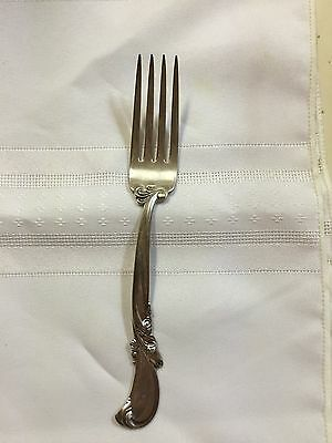 "Waltz of Spring by Wallace Sterling Silver 7 1/8"" Place Dinner Fork 1.7oz"