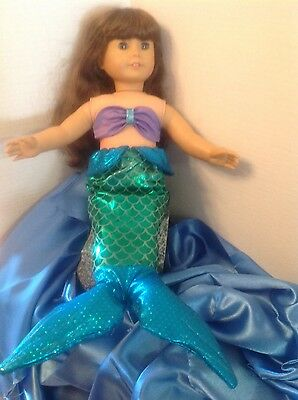 18 inch doll clothes-Mermaid costume