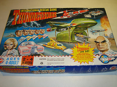 The renown 'Thunderbirds' classic board game resurrect this game over Christmas
