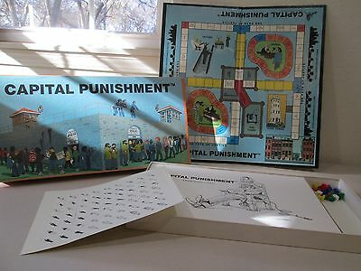 Vintage 1981 Capital Punishment Board Game