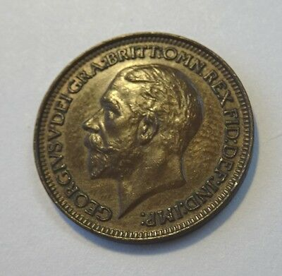1930 George V Farthing High Grade UNC