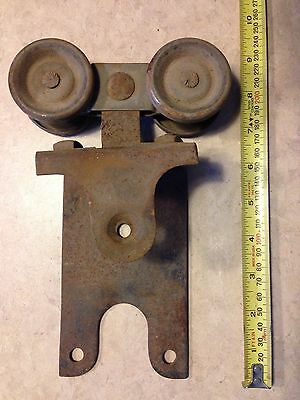 Vintage Barn Door Track Roller Mfd. By RW. Estate Sale Find