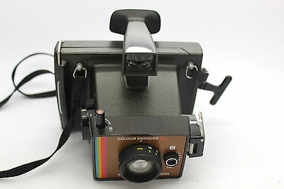 Vintage Colour Swinger II  Polaroid Land Camera with Strap.