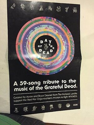 Grateful Dead: Day Of The Dead Poster, Various Artists, Jerry Garcia, Rare!