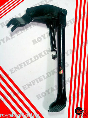 New Royal Enfield Bullet Rearfitting Black Side Stand Heavy Duty Best Quality