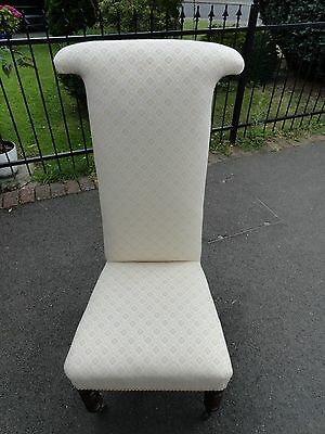 A fine example of a Victorian Prie-Dieu chair