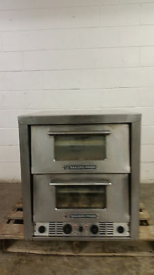 Bakers Pride P-44 Double Deck Pizza Oven 208 Volt Ovens