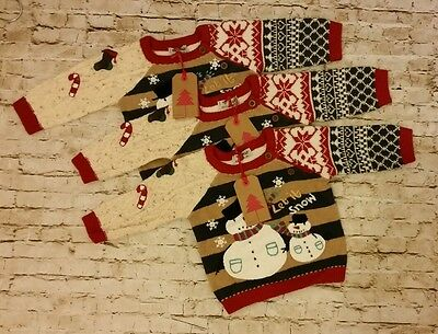Baby boy christmas jumper 3-6 mths Next brand new with tags was £20.00