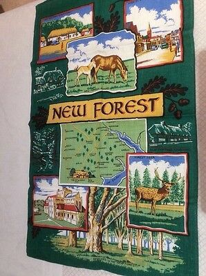 Tea Towel New Forest Irish Linen