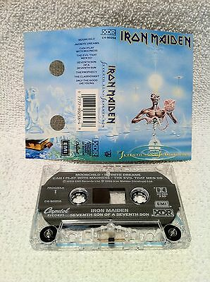 IRON MAIDEN Seventh Son Of A Seventh Son CASSETTE Tape US