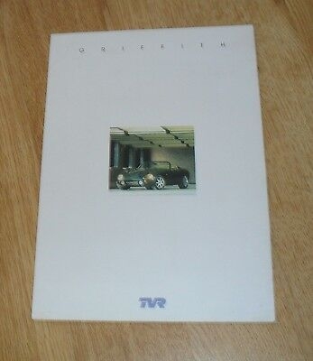 UK TVR Griffith 500 Brochure 2001
