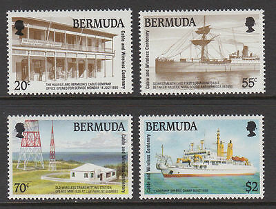 Bermuda 1990 Cent of Cable and Wireless MNH