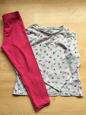 Girls NEXT Leggings And Top Outfit Age 2-3