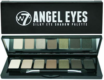 W7 Angel Eyes Eyeshadow Palette - On The Town - Gold Caramel Browns