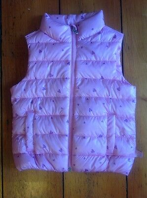 United colors of Benetton pink gilet / body warmer in a bag / 3-4 years  BNWT