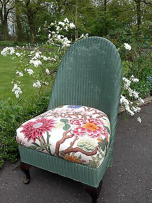 Lloyd Loom Style Bedroom Chair