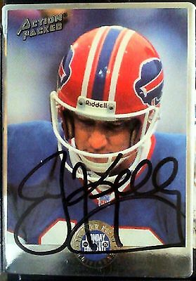 Jim Kelly  Autographed 1994 Action Packed Card #13