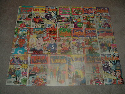 20 Archie Mixed Lot Of Bronze & Copper Age Comic Books
