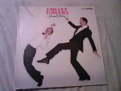 Fawlty Towers Second Sitting Bbc Comedy Series  Vinyl Lp John Cleese Near Mint