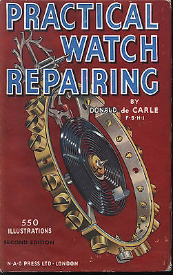 Practical Watch Repairs Illustrated Manual Horology